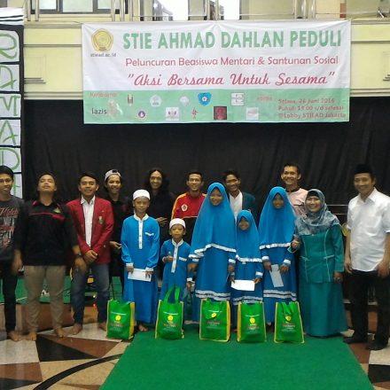 STIE Ahmad Dahlan Peduli